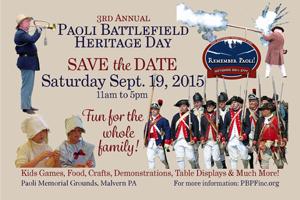 2015 Paoli Battlefield Heritage Day