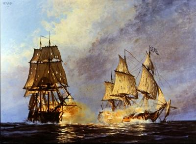 A Sea Change: Naval Warfare In The American Revolution In The Spring Of 1778