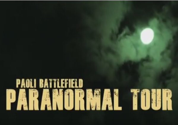 Fall 2017 Paranormal Tour Of The Paoli Battlefield