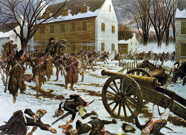 Battle Of Trenton2 By Charles McBarron
