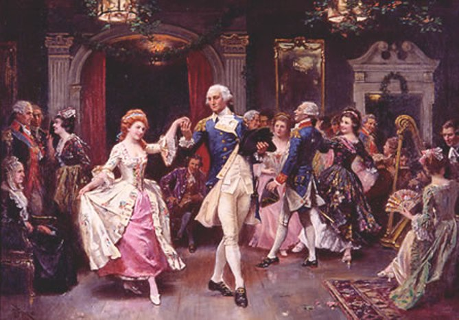 Colonial Music And Dancing