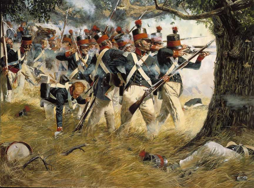 Western Maryland And Pennsylvania Troops In Defense Of Baltimore In The War Of 1812