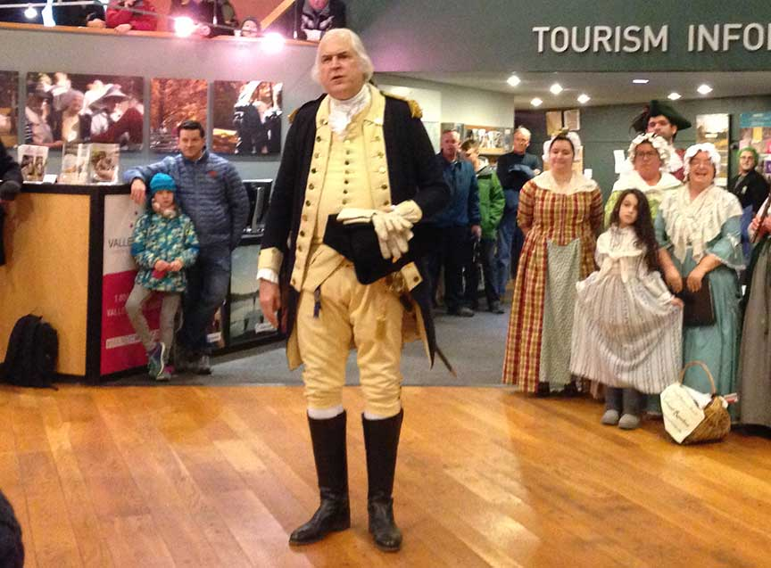 An Evening With His Excellency: George Washington