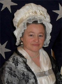 Carol Spacht as Martha Washington
