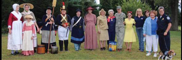Mothers Day Tea With Female Reenactors And Women Of Today