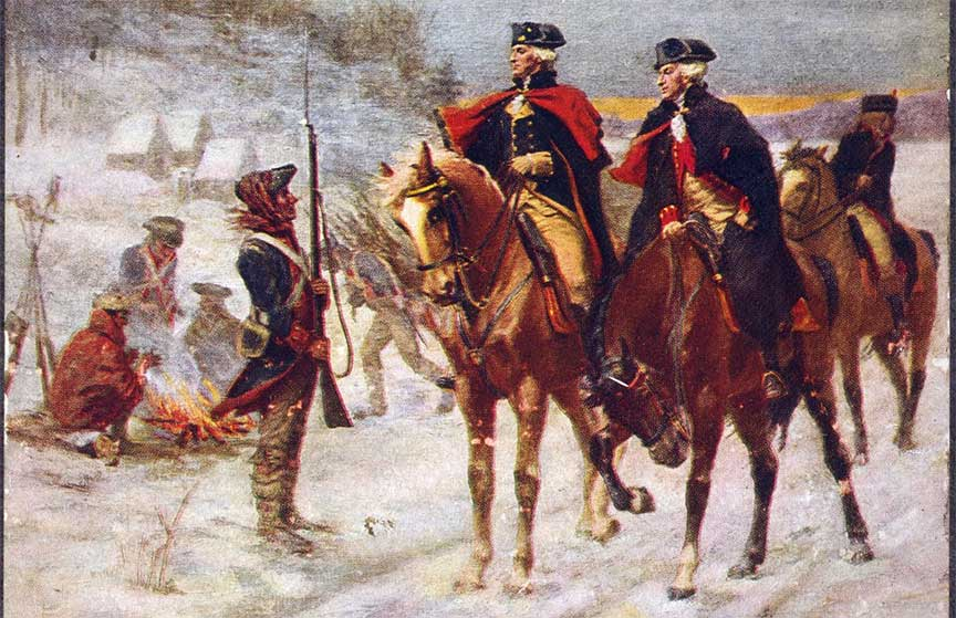 Outside The Encampment: Impact Of The Valley Forge Encampment On The Local Area