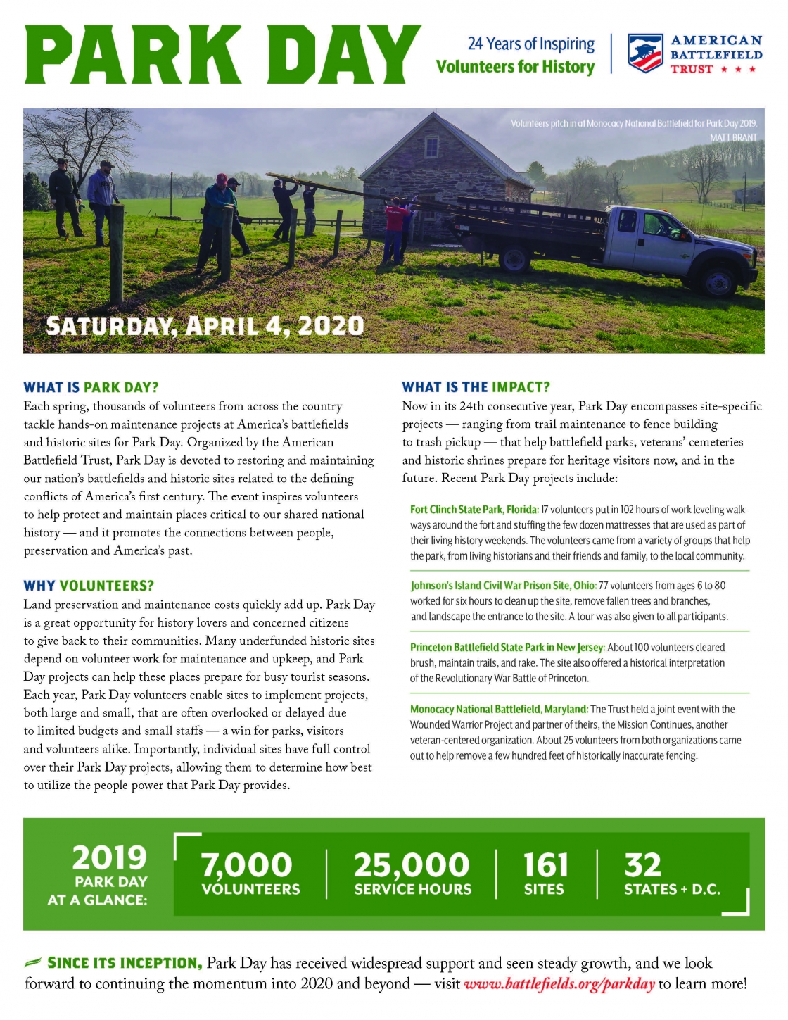 2020 Paoli Battlefield Clean Up Day