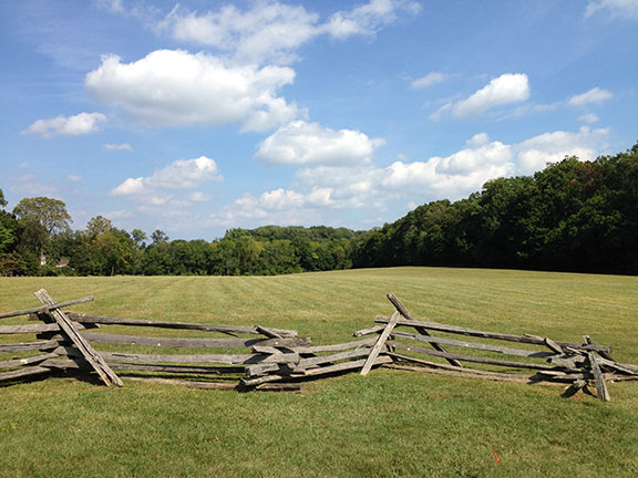 Paoli Battlefield - photo by Dawn Hoffman