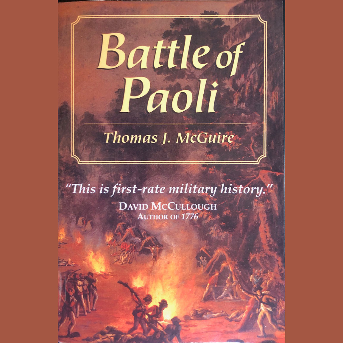 Battle Of Paoli – By Thomas McGuire