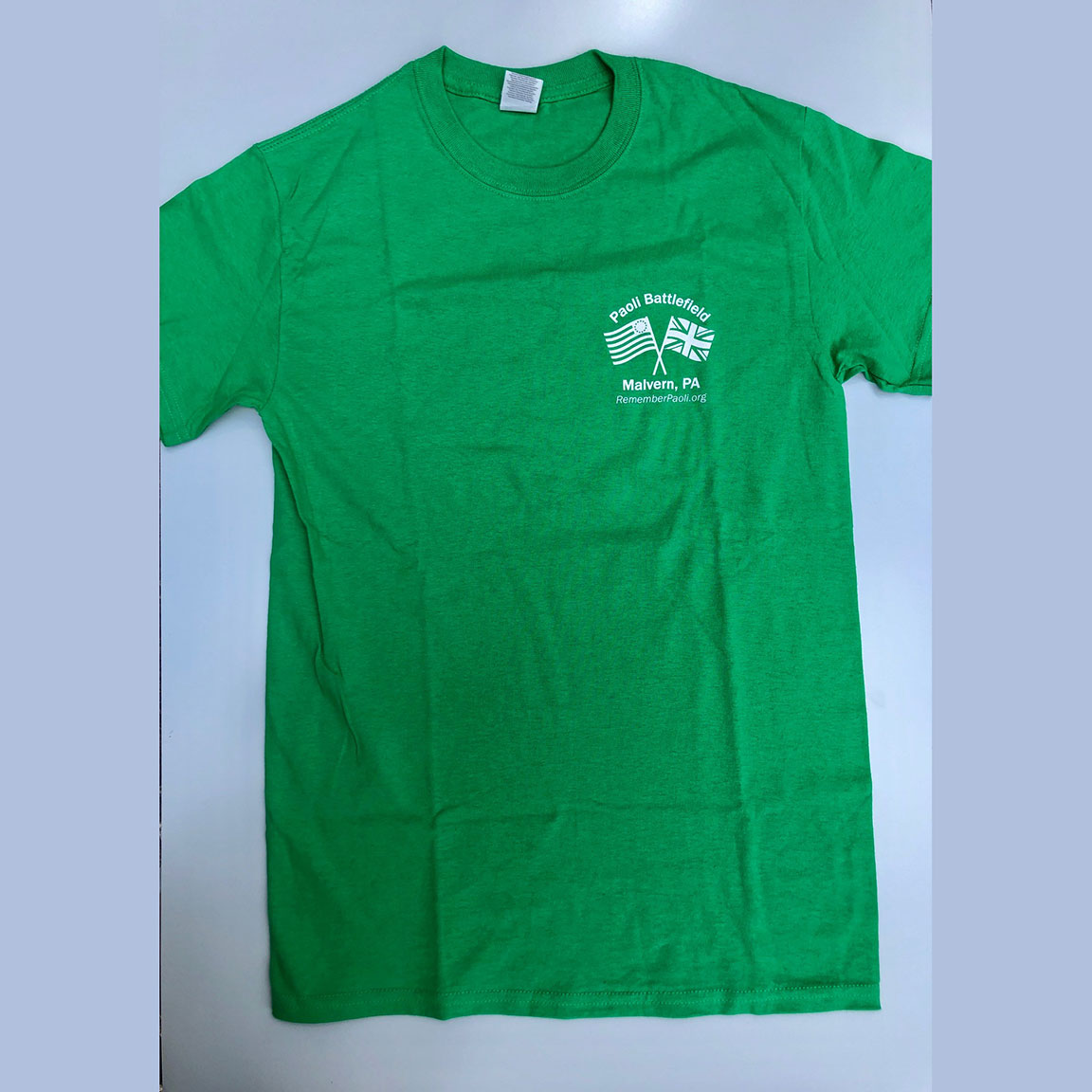 Remember Paoli Green Shirt - Front